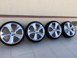 Vendo jogo de roda aro 20 com pneus novos!