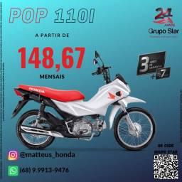 Título do anúncio: Motocileta Honda Pop 110i
