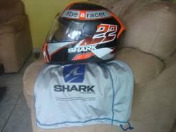 capacete  shark  d,skwal c/ oculos interno