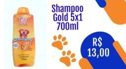 Shampoo Gold 5x1 700ml 13,00 Frete grátis