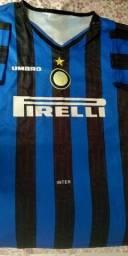 Título do anúncio: Camisa inter de Milão retrô