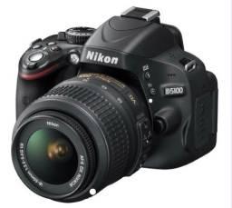 Nikon D5100 Dslr Com Tripé, Bolsa Profissional E Bat. Extra