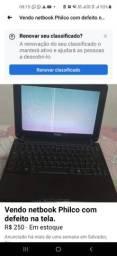 Título do anúncio: Vendo netbook com defeito na tela
