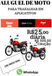 Título do anúncio: ALUGUEL DE MOTO PARA APP, E MOTOTAXISTAS