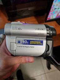Título do anúncio: Filmadora Sony handycam 40x Carl Zeiss