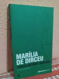 """Livro: """"Marília de Dirceu""""/ Tomás Antônio Gonzaga / Col. Saraiva de Bolso"""
