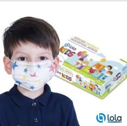 Título do anúncio: Mascara descartável infantil