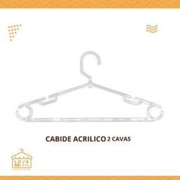 Cabide Acrilico 2 Cavas