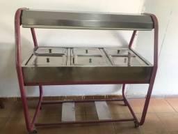 Título do anúncio: Cuba Fria aço  inox 6 bandejas i p frios saladas