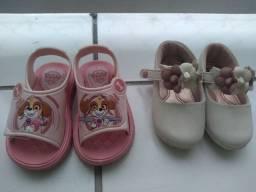 Título do anúncio: Lote de sapato infantil