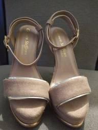 Sandália Salto Alto Carmen Steffens Comfort ??