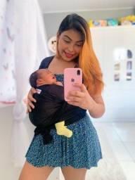 Wrap Sling Dryfit - Carregador de Bebê Canguru Sling (Novo)