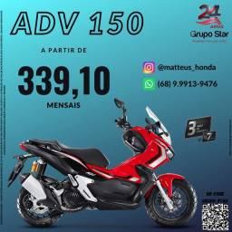 Título do anúncio: Motocicleta Honda ADV 150 lançamento 2021