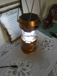 Título do anúncio: LANTERNA LAMPIÃO
