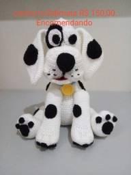 bichinhos feito de lã em algodão da marca amigurumi
