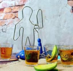 Título do anúncio: Jogo de Shot Buzz Wire Drink Tequila Bebida Zona Criativa