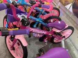 Título do anúncio: Tenho Para Criança de 5 anos bicicleta nova aro 16 infantil