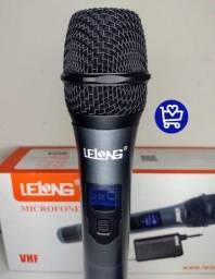 Microfone digital Lelong sem fio
