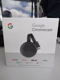 Título do anúncio: Google Chromecast Novo na  caixa lacrada!