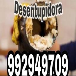 Limpeza e desentupimento de pia ralo v.sanitario cx gorduraal!!!