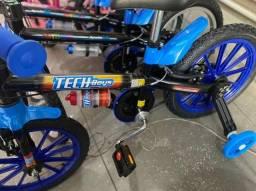 Título do anúncio: Para Criança de 5 anos bicicleta nova aro 16 infantil