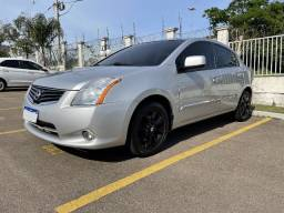 Título do anúncio: Nissan Sentra SL 2.0 2012 - Flex e GNV - C/ Teto Solar - Automático CVT
