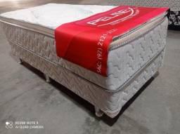 Título do anúncio: cama solteiro molas ensacadas pelmex - frete grátis