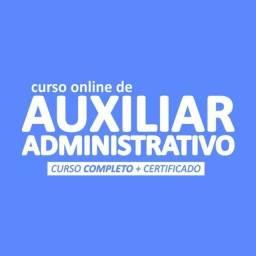 Título do anúncio: Curso Auxiliar Administrativo