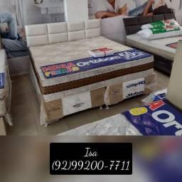 Título do anúncio: Cama cama # na compra de um conjunto ganhe uma cabeceira # cama queen