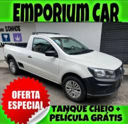 Título do anúncio: OFERTA RELÂMPAGO!!! VW SAVEIRO 1.6 ROBUST ANO 2019 COM MIL DE ENTRADA