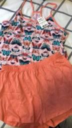 Pijama novo G com etiqueta