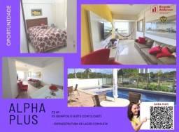 Título do anúncio: Apartamento 3/4, suíte e closet, Paralela, cond. com lazer, 72m², 2 garagens