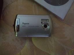 Título do anúncio: Camera Digital Ac10br Aspects Completa 1gb Carregador