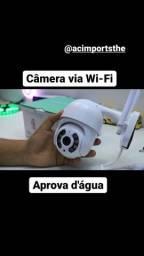 Título do anúncio: Câmera externa ip wi-fi (Aprova d'água , Só precisa do celular pra instalar)