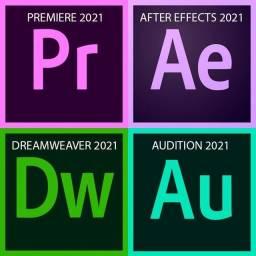 Título do anúncio: Pacote Adobe Premiere 2021 Vitalicio