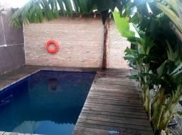 Título do anúncio: Casa com piscina para temporada em bonito ms