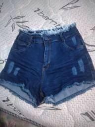 Short jeans e macaquinha 44