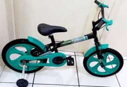 Título do anúncio: Bicicleta aro 16 do Minecraft