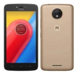 Celular Smartphone Motorola Moto C 16GB 2 Chip Novo na Caixa, Original