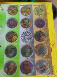 Coleções de Tazos elma chips