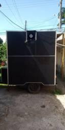 Vendo food truck trailer