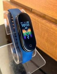Smartband m5 monitoramento:  calorias, pressão e  batimentos