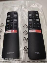Título do anúncio: Controle de Tv Semp Tcl Smart Original ( para vender logo )