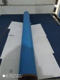Rolete em pvc diâmetro 100 mm comprimento 1060 mm