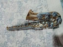 Saxofone Alto Prowinds Conservado + Palheta Vandoren N°2