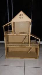 Título do anúncio: Casa de boneca de madeira