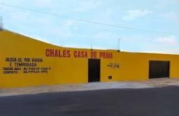 chalés litoral Luis Correia