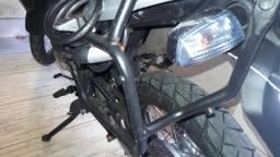 Suporte de baú lateral para moto xre 300