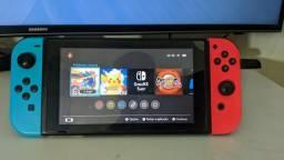Nintendo switch Desbloqueado com SX OS Pro e SD de 128GB