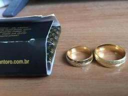Alianças banhadas a ouro!!